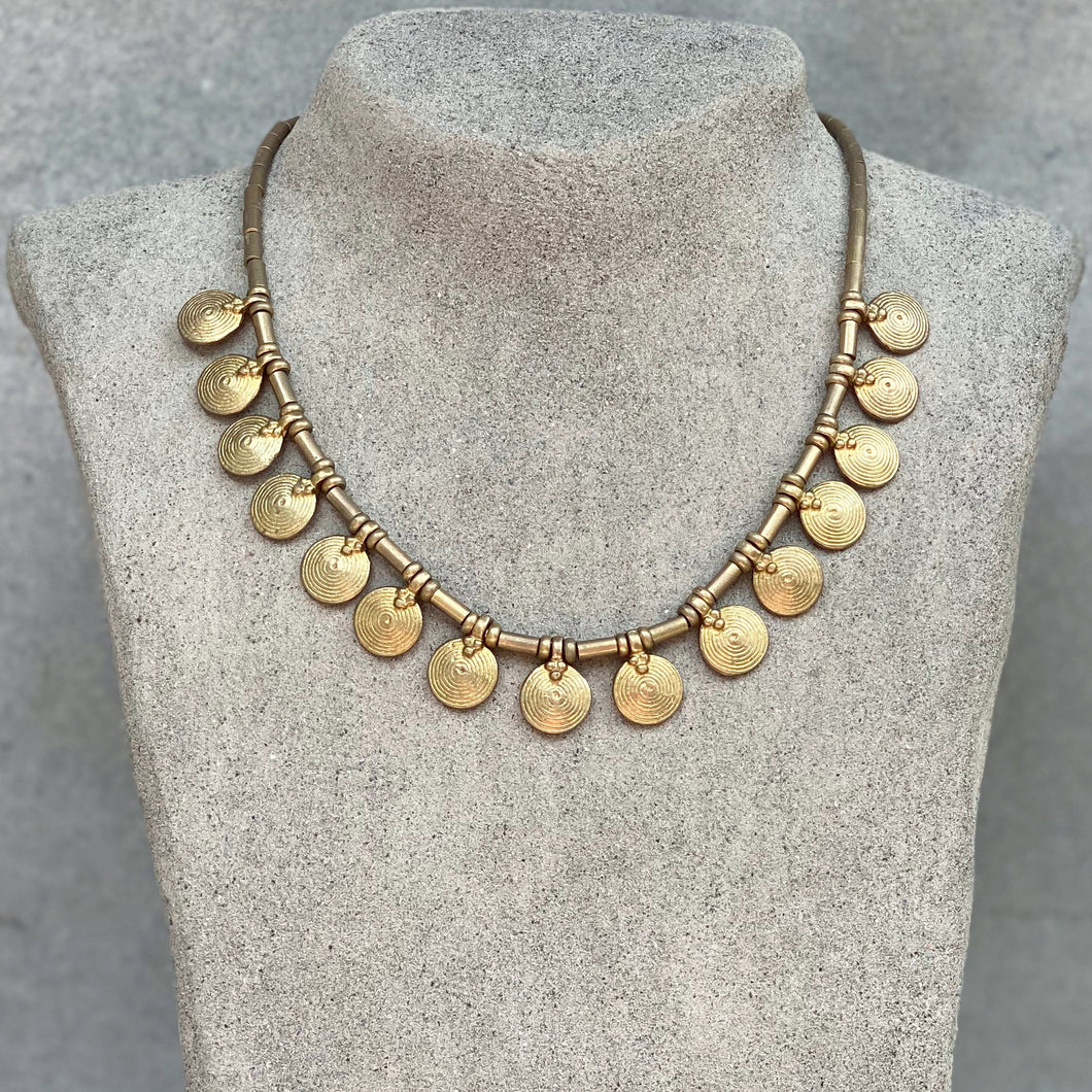 Sun Collar Necklace ☆Brass☆