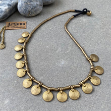 Load image into Gallery viewer, Sun Collar Necklace ☆Brass☆