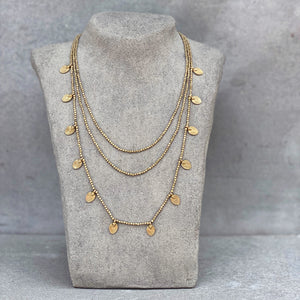 Lee Layered Necklace ☆Brass☆