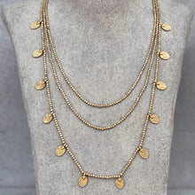 Load image into Gallery viewer, Lee Layered Necklace ☆Brass☆