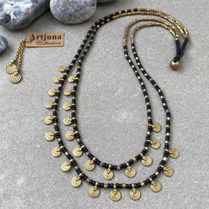 Sai Layered Necklace ☆Black☆