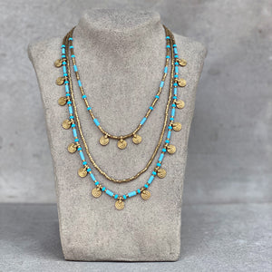 Mia Layered Necklace ☆Turquoise☆