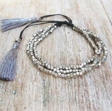 Load image into Gallery viewer, ☆Tassel Bracelet☆ Silver☆