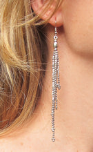 Load image into Gallery viewer, ☆Tassel Earrings☆ ☆Silver☆