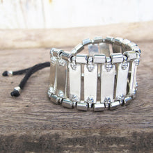 Load image into Gallery viewer, ☆Tribal Cuff Bracelet☆ Silver☆