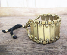 Load image into Gallery viewer, ☆Tribal Cuff Bracelet☆ Brass☆