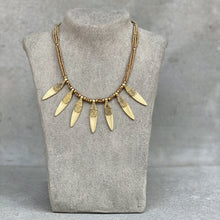 Load image into Gallery viewer, Sun Ray Necklace ☆Brass☆