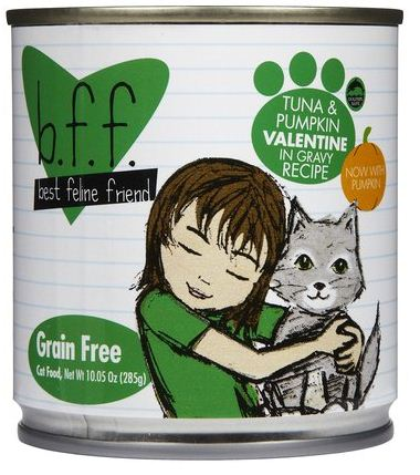 Weruva BFF Tuna and Pumpkin Valentine Canned Cat Food