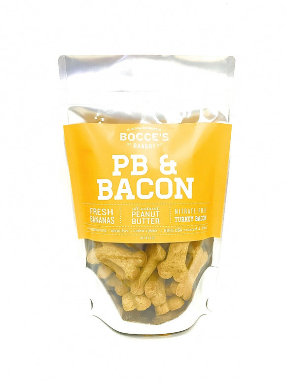 Bocce's Bakery Peanut Butter and Bacon All Natural Dog Biscuits