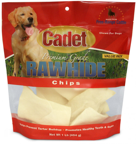 Cadet Rawhide Natural Flavor Chips for Dogs