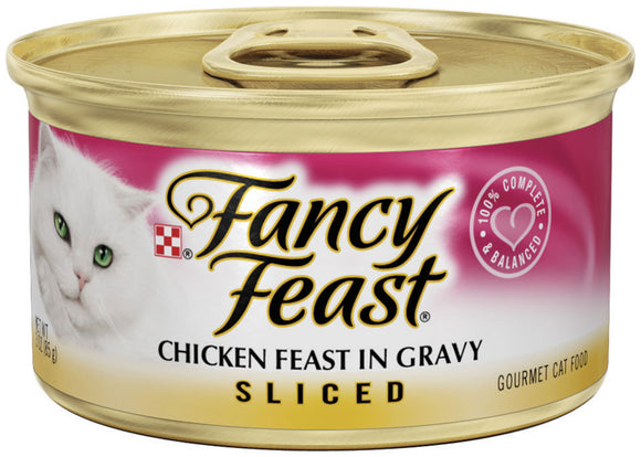 Fancy Feast Sliced Chicken Feast in Gravy Canned Cat Food