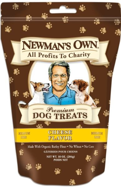 Newman's Own Organics Cheese Formula Medium Size Dog Treat