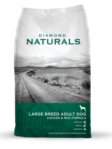 Diamond Naturals Large Breed Chicken and Rice Formula Adult Dry Dog Food