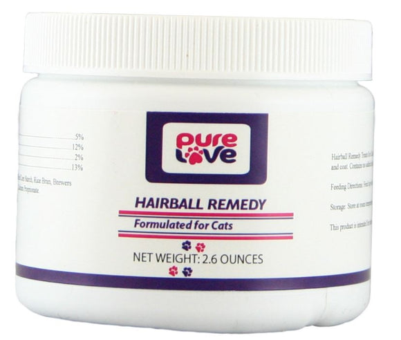 Pure Love Hairball Remedy Treats for Cats