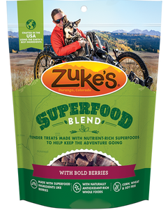 Zukes SuperFood Blend with Bold Berries Dog Treats