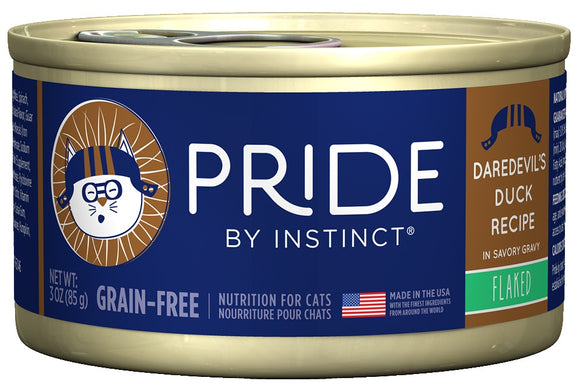 Nature's Variety Pride by Instinct Flaked Daredevil Duck Canned Cat Food