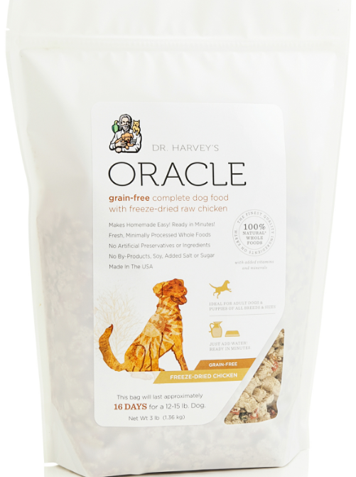 Dr. Harvey's Oracle Grain Free Freeze Dried Chicken Formula for Dogs Food
