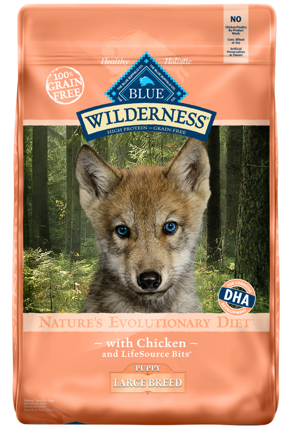 Blue Buffalo Wilderness Large Breed Puppy Chicken Dry Dog Food