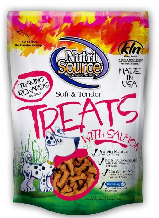 NutriSource Soft and Tender Salmon Dog Treats
