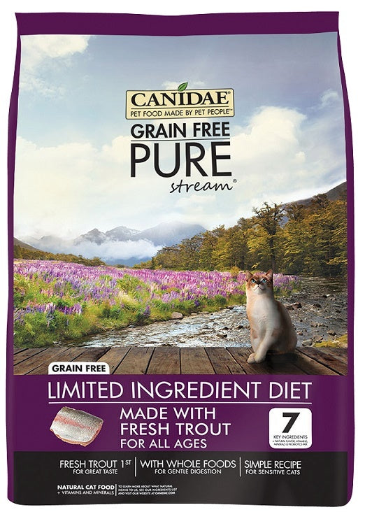 Canidae Grain Free PURE Stream with Fresh Trout Dry Cat Food