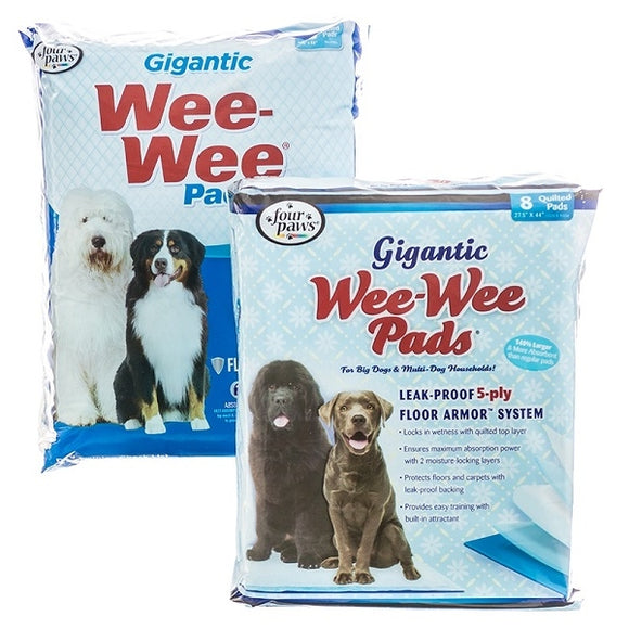 Four Paws Wee-Wee Giant Puppy Housebreaking Pads