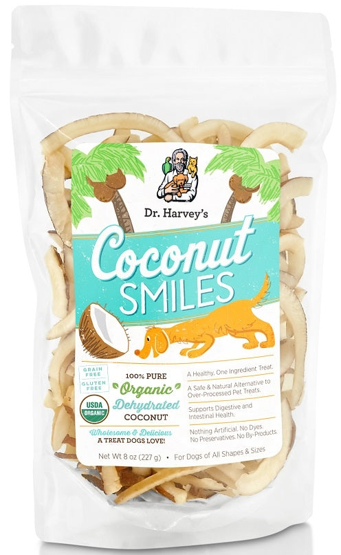 Dr. Harvey's Organic Coconut Smiles Dog Treats