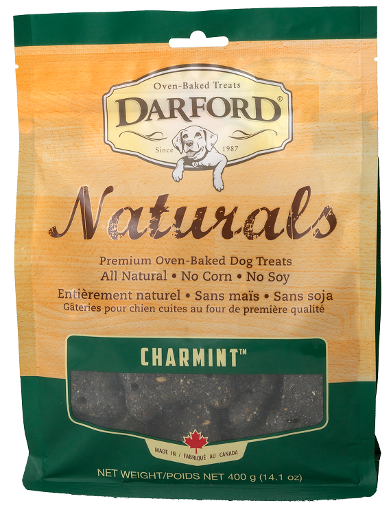 Darford Naturals Charmint Oven Baked Treats for Dogs
