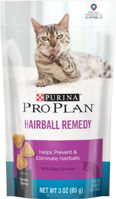 Purina Pro Plan Hairball Remedy with Real Chicken Treats