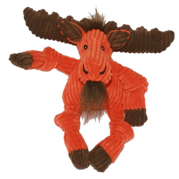 HuggleHounds Knottie Moose Dog Toy