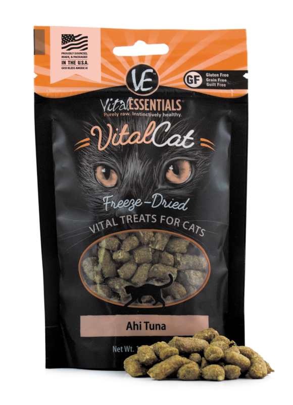 Vital Essentials Vital Cat Freeze Dried Ahi Tuna Cat Treats