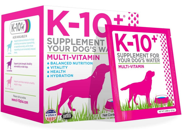 K-10+ For Your Dog's Water Multi-Vitamin Formula Dog Supplement