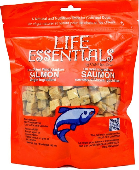 Cat-Man-Doo  Wild Alaskan Salmon Freeze-Dried Cat and Dog Treats
