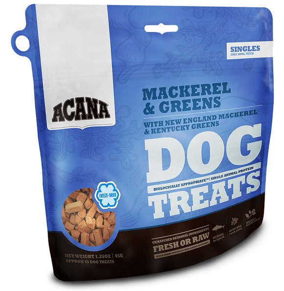 ACANA Singles Limited Ingredient Diet Wild Mackerel Formula Dog Treats