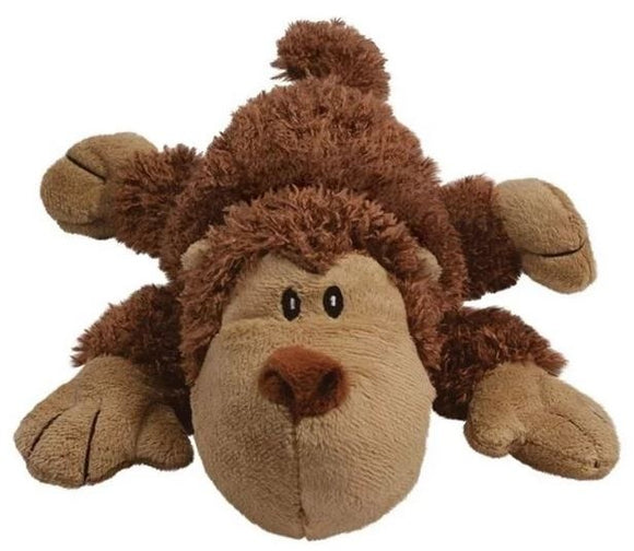 KONG Spunky Monkey Cozie Plush Dog Toy