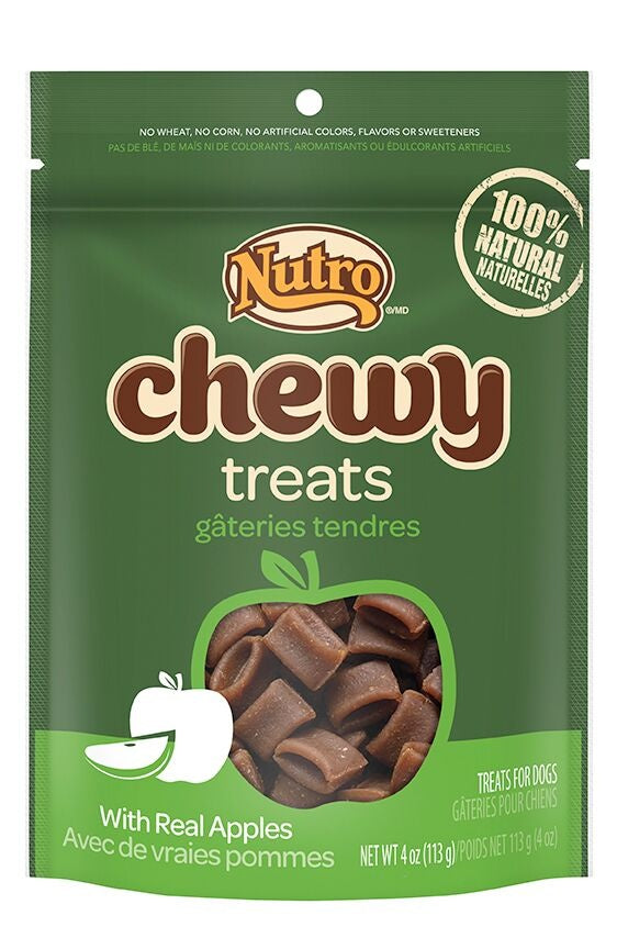 Nutro Chewy Treats With Real Apples Natural Dog Treats