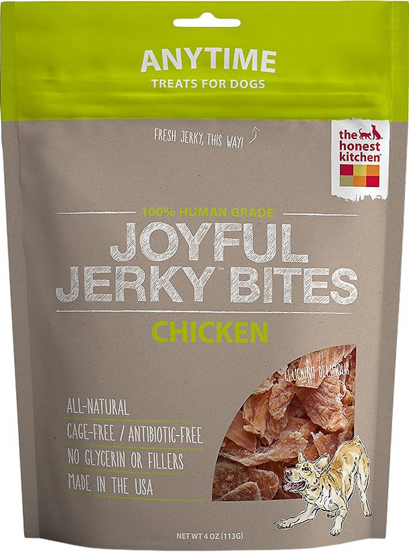 The Honest Kitchen Grain Free Joyful Jerky Chicken Filets Dog Treats