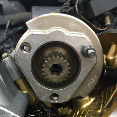 reluctor wheel alignement