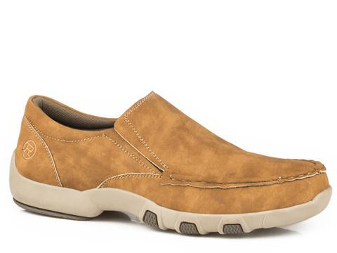Roper Men's Reese Tan Driving Moc