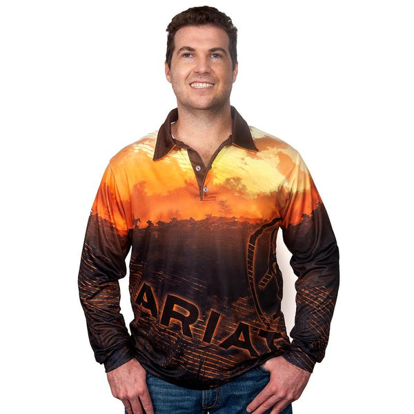 Ariat Men's Western Sunset Fishing Shirt