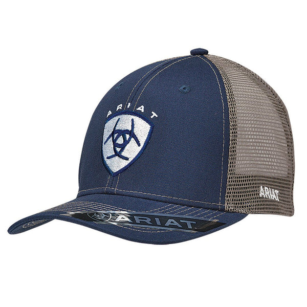 Ariat Trucker Snap Back Cap Navy