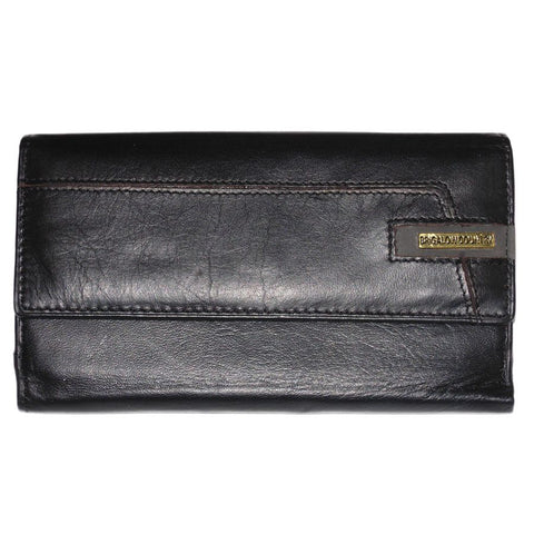 Brigalow Women's Black Leather Purse