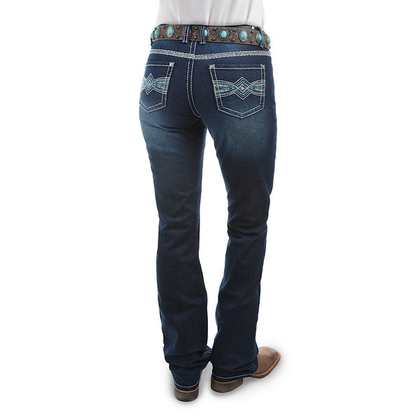Pure Western Women's Indiana Relaxed Rider Jean