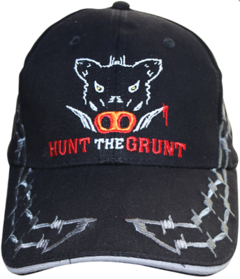 Hunt the Grunt Black Cap