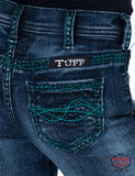Cowgirl Tuff Girls Turquoise Spirit Trouser