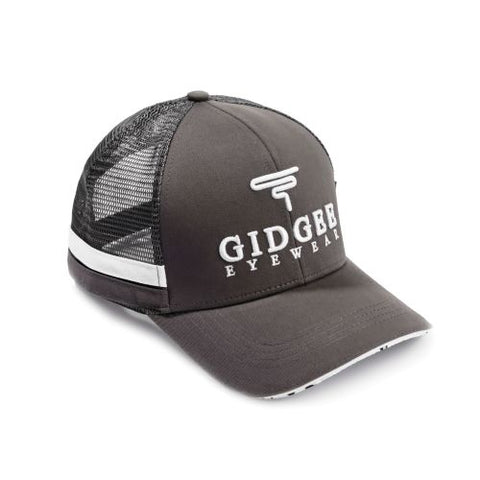 Gidgee Eyewear Grey Stripe Cap