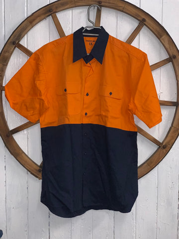 Tough Inc. Hi-Vis Short Sleeve Shirt