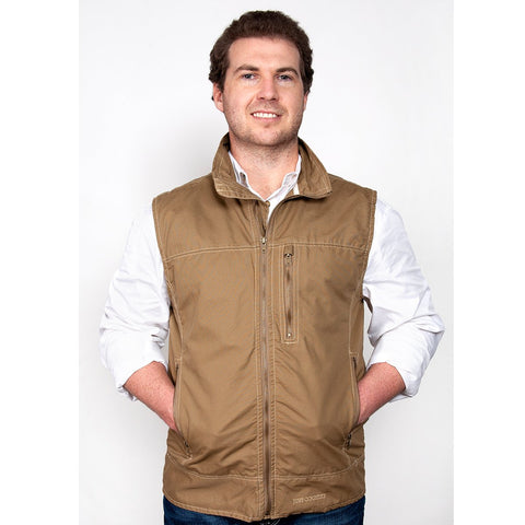Just Country Joshua Men's Khaki Vest
