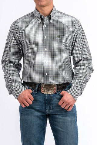 Cinch Men's Plaid Button Up Shirt
