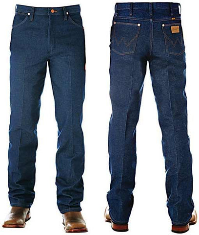 Wrangler Men's Cowboy Cut Slim Fit Rigid Jeans