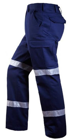 Rite Mate Cargo Trouser 3M Tape Navy